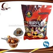 mini biscuit cup chocolate jam bag packing