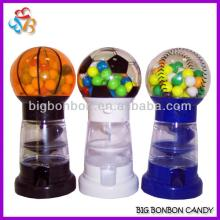 6.5inch sports gumball machine with 40g gumball