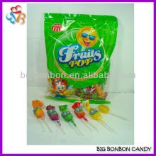 Twist Wrapper Fruity Lollipop