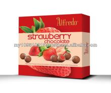 Alfredo Freeze Dried Strawberry Milk Chocolate 150g