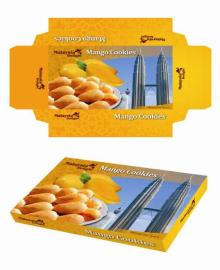 Malaysia Delight Mango Cookies - 300G