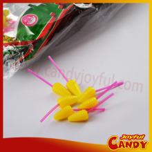 Corm shaped lollipop candy / animal shaped hard candy lollipops