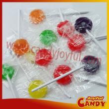 kosher 4g mini hard  round  lollipop candy