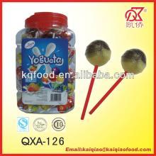 21g Kosher Yogueta Fruit Lollipop Filled With Gum