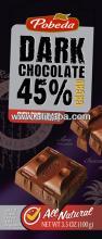 dark chocolate 45% cocoa