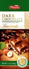 dark chocolate with haselnuts 50% cocoa