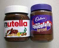 Nutella Chocolate Spread Jars 400,750,800gr