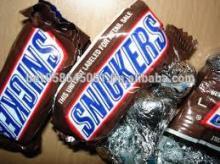 Mars, Twix, Snickers, Peanut and Crispy Chocolates