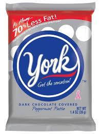 York Peppermint Patties, Dark Chocolate Covered - 36 pack, 1.4 oz