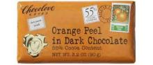 Chocolove Orange Peel in Dark Chocolate, 55% Cocoa - 3.2 oz bar