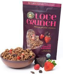 Nature's Path Organic Love Crunch Granola, Dark Chocolate & Red