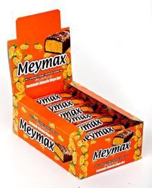 meymax milky compound orange flavoured noguat bar