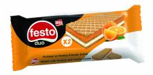 FESTO Wafers With Orange and Vanilla Cream