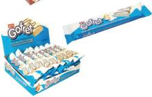 GOFRET Milky & White Compound Chocolate Coated Wafers