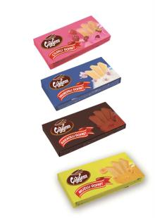 Cigdem wafer with flavores
