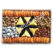 Gift Package 65, Turkish Apricot, Dried Apricot, Packed Dried Fruit, Nuts, Candy, Sweet, Confectione