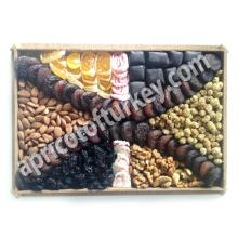 Gift Package 68, Turkish Apricot, Dried Apricot, Packed Dried Fruit, Nuts, Candy, Sweet, Confectione