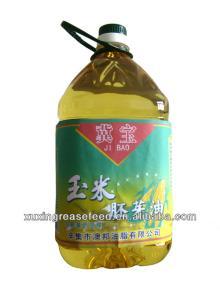 Edible refined corn oil in 5L packaging