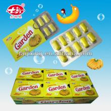 Banana flavor chewing gum xylitol production XG-004
