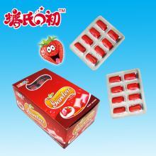 strwaberry flavor garden xylitol gum chicle XG-001