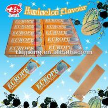 Hamimelon flavor Europe stick chewing gum CG-001