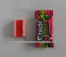 JJW 4g fruit flavor jelly bubble gum