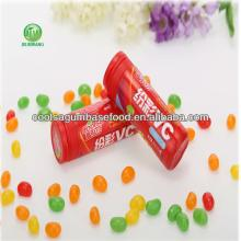 coolsa assored fruit flaovrs rainbow vc jelly bean