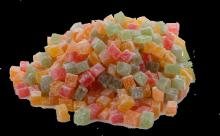 Turkish Delight With Mix Fruit Flavour-small Cutting