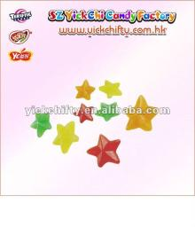 Soft eating Candy/Gummi/gummy candy in star shaped(SG-8009)