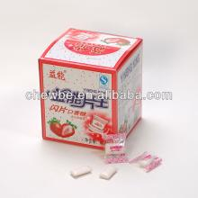 tutti fruity strawberry chewing gum