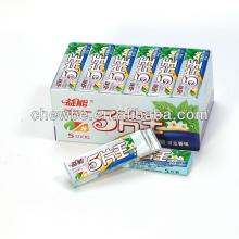 5 stick spearmint chewing gum candy shantou