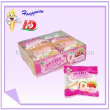 Bag small bread shape marshmallow candy