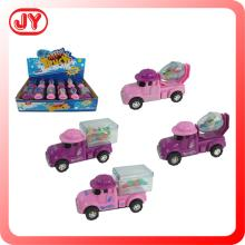 Funny car shape china candy toys with 8g sugar