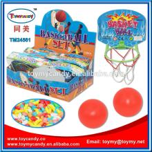 Hot  new products for 2014 china supplier basket ball kids games with candy most popular products in