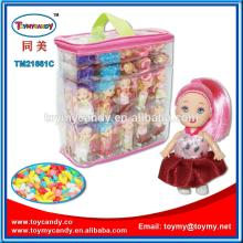 Hot new products for 2014 most popular items fashion princess beautiful baby doll with candy in pvc
