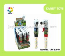 SHOUTING  ZEBRA  CANDY TOYS (817TUBE) (12PCS/BOX)