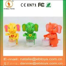 Wind up elephant sweet toy  container  play the drum