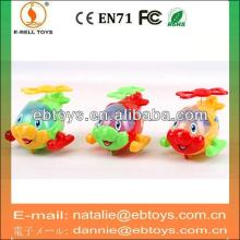Solid color Pull line cartoon aircraft sweet candy container tosy