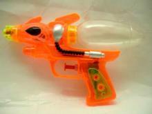 Single spray water gun toys sweet candy toys