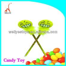 cheap  promotion al  pen  toy candy