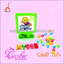 plastic  puzzle  toy candy/promotional candy dispenser