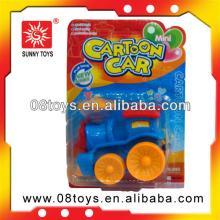 Cartoon pull back plastic car candy toy