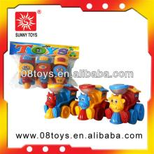 Plastic small pull back car clear toy candy molds