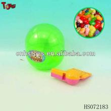 whistle + candy egg toys