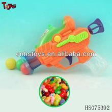Plastic small pingpong  toy   gun