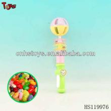 Funny rattle candy  plastic  tube toy