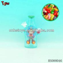 bottle shape water machine plastic candy container