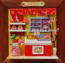 Sweet  wooden  candy room toy candy  toys