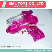 Small transparent water gun with candy gun toy with sugar