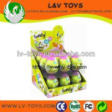 18 PCS plastic toy with candy for egg toys made in China for kids